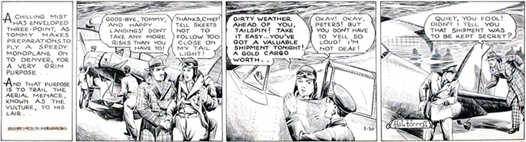 Tailspin Tommy © United Features Syndicate, 1920