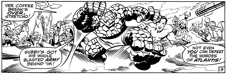 Jack Kirby,  Fantastic Four © Marvel Comics, 1962