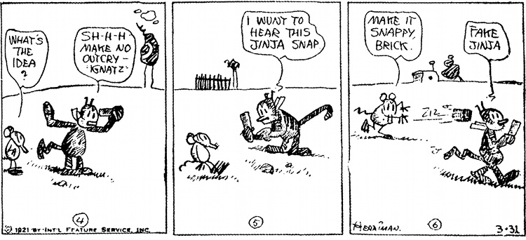 Krazy Kat © King Features Syndicate, 1931